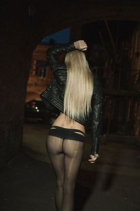 Naked Ass In Tights